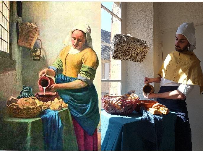La laitiere Vermeer